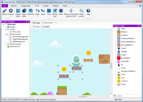 Make games with GDevelop